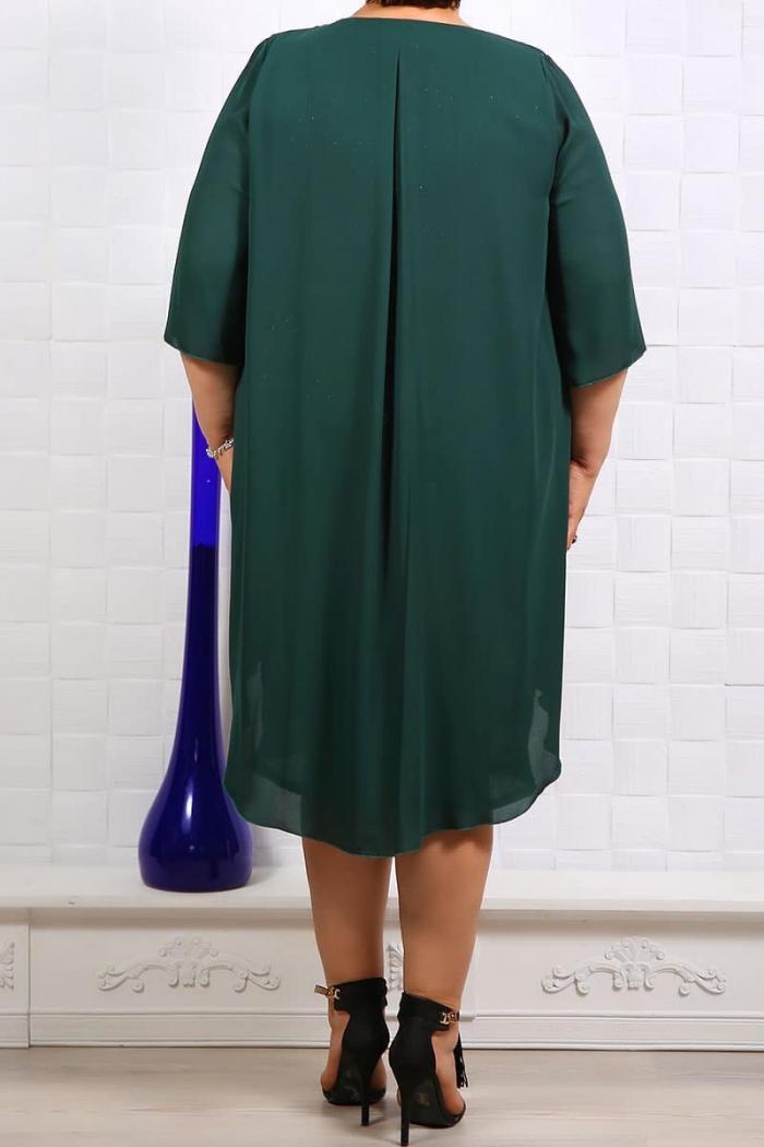 Rochie de ocazie Anabel Verde