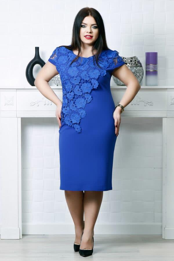 Rochie eleganta Gabriela Albastru