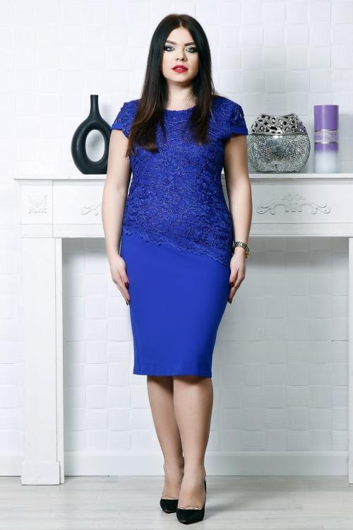 Rochie eleganta Ela Albastru