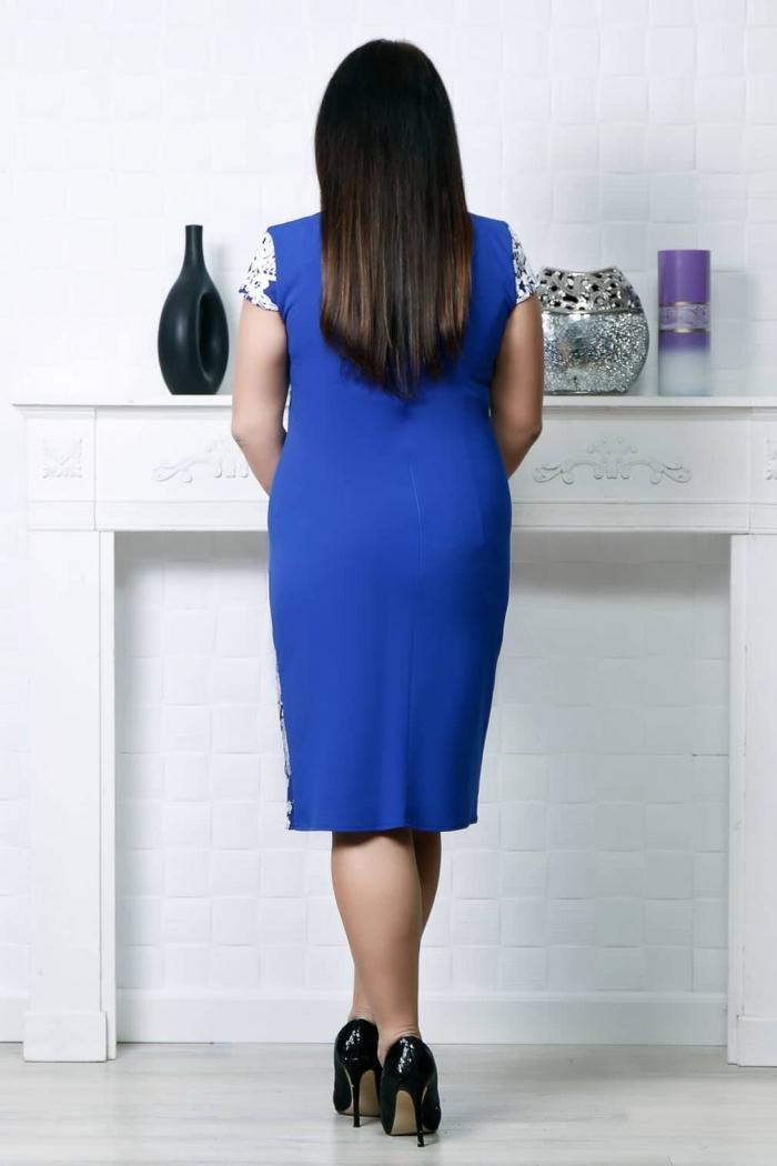 Rochie eleganta Carmina Albastru MG 9662