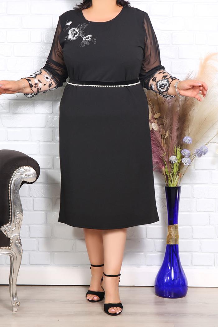 Rochie de seara jasmin cu accesoriu in talie IMG 1043copy