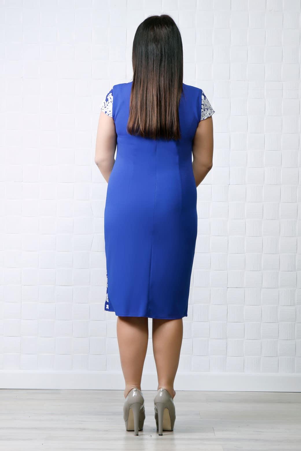 Rochie eleganta Rina Albastru