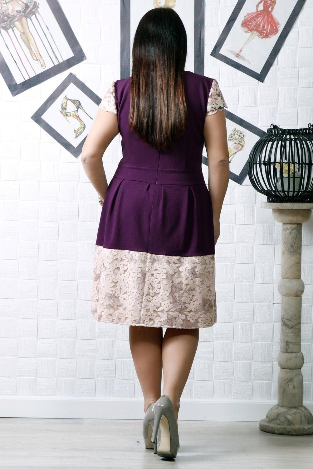 Rochie de ocazie Amira Mov