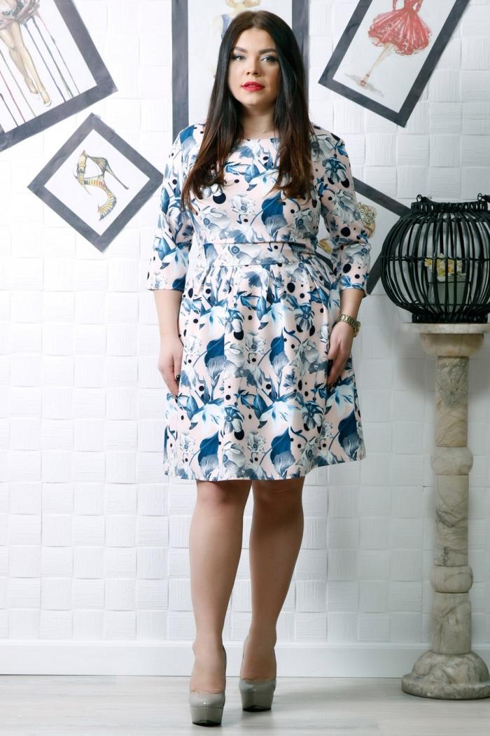 Rochie eleganta Ramia Blue