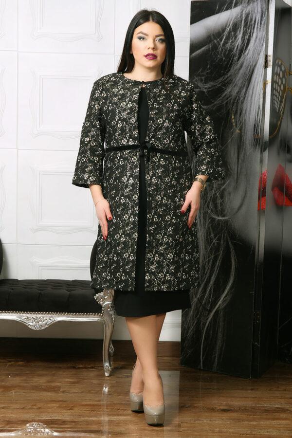 Compleu dama elegant din brocard Viana