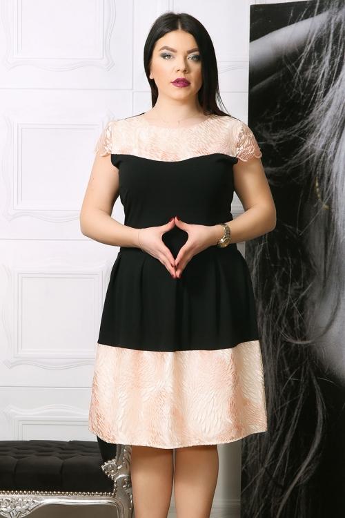 Rochie de ocazie Mania Negru