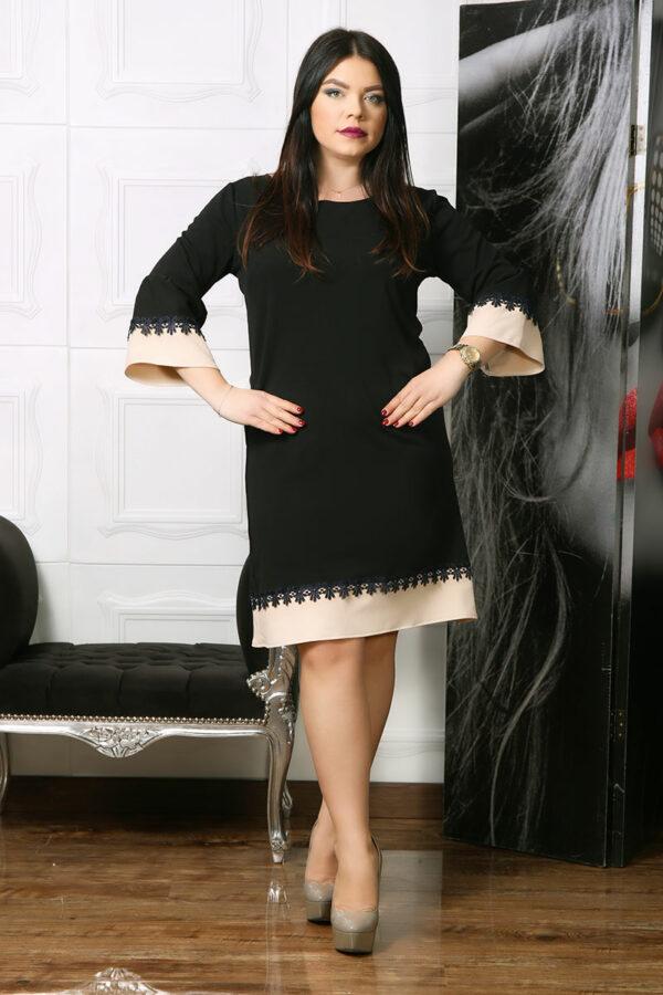 Rochie Eleganta Elonia Neagra