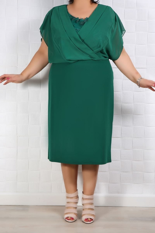 Rochie de ocazie Rebeca Verde