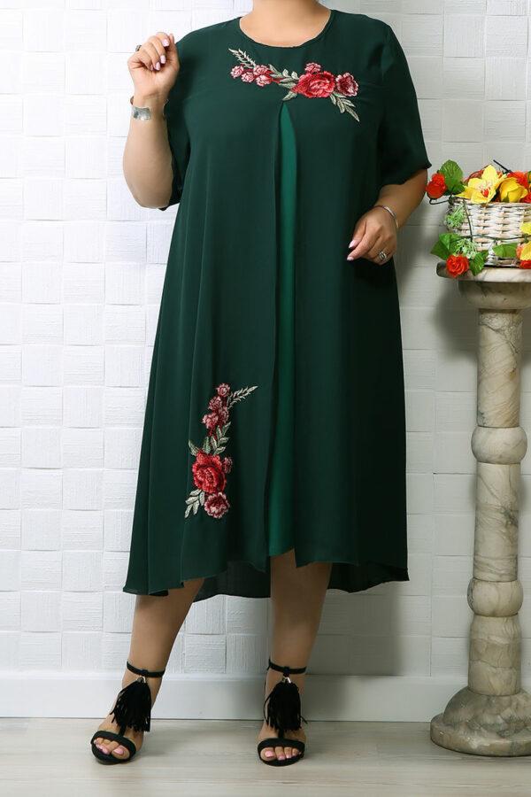 Rochie din voal Lina Verde