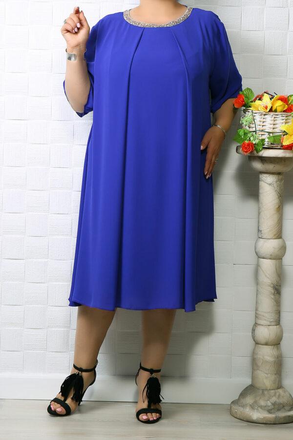 Rochie din voal Ania Albastru