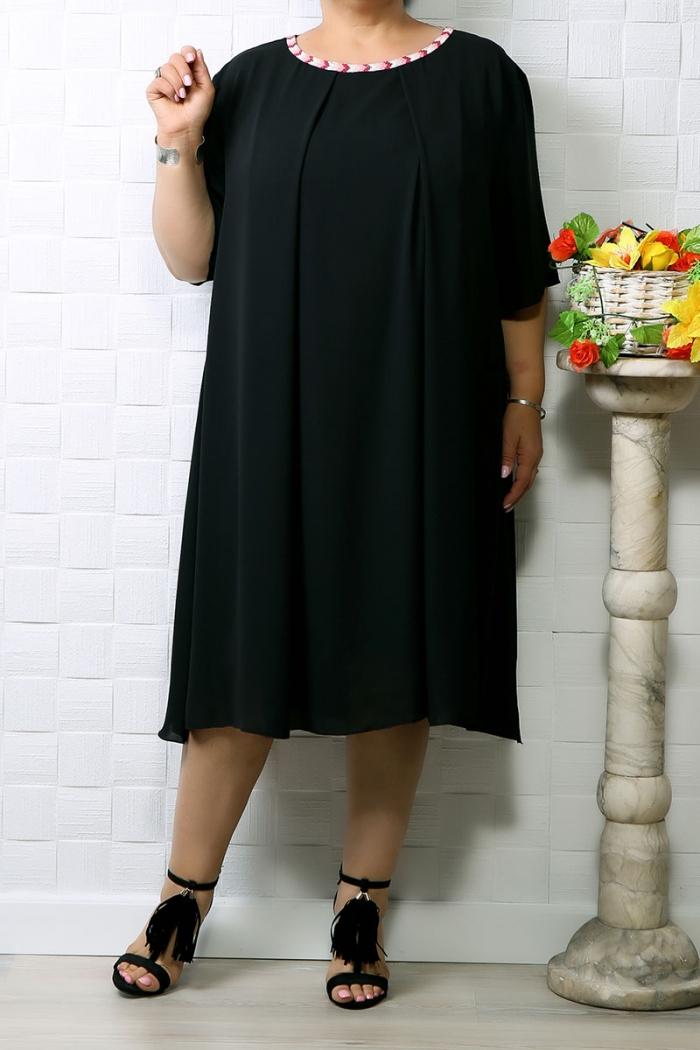 Rochie din voal Ania Negru
