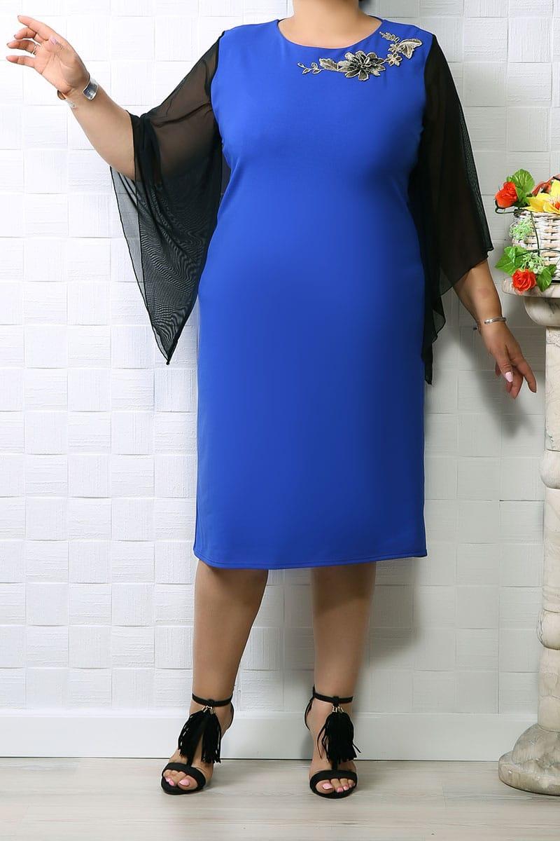 Rochie de ocazie Iris Albastru