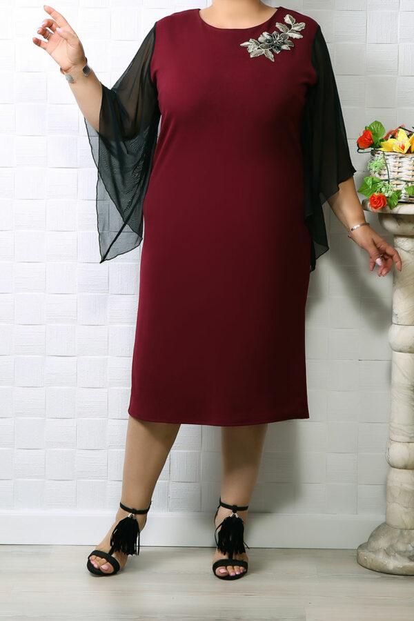 Rochie de ocazie Iris Bordo