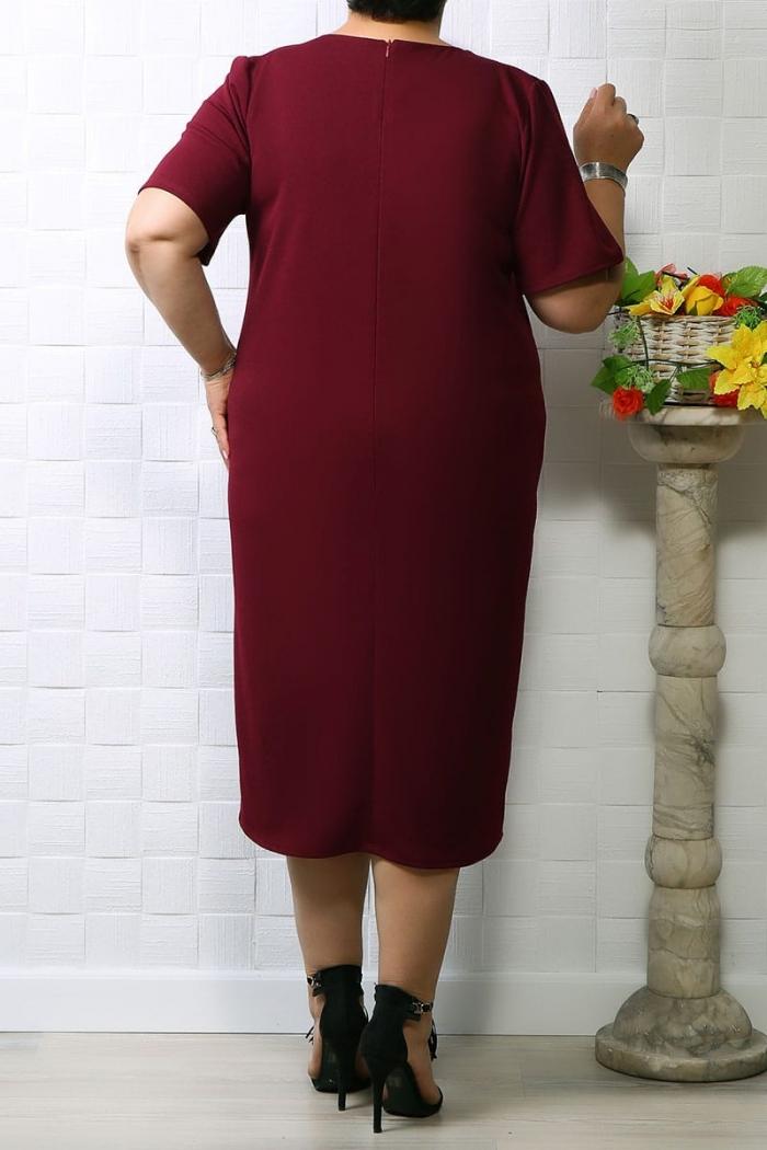 Rochie de ocazie Selina Bordo