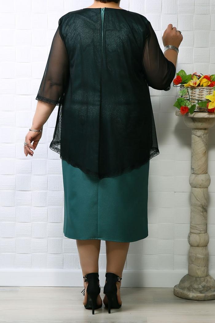 Rochie de ocazie Ada Turcoaz