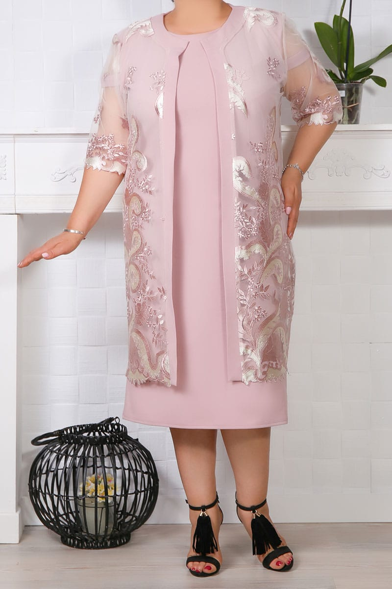 Compleuri dama, set 2 piese dama, rochie si bleizer,costume dama