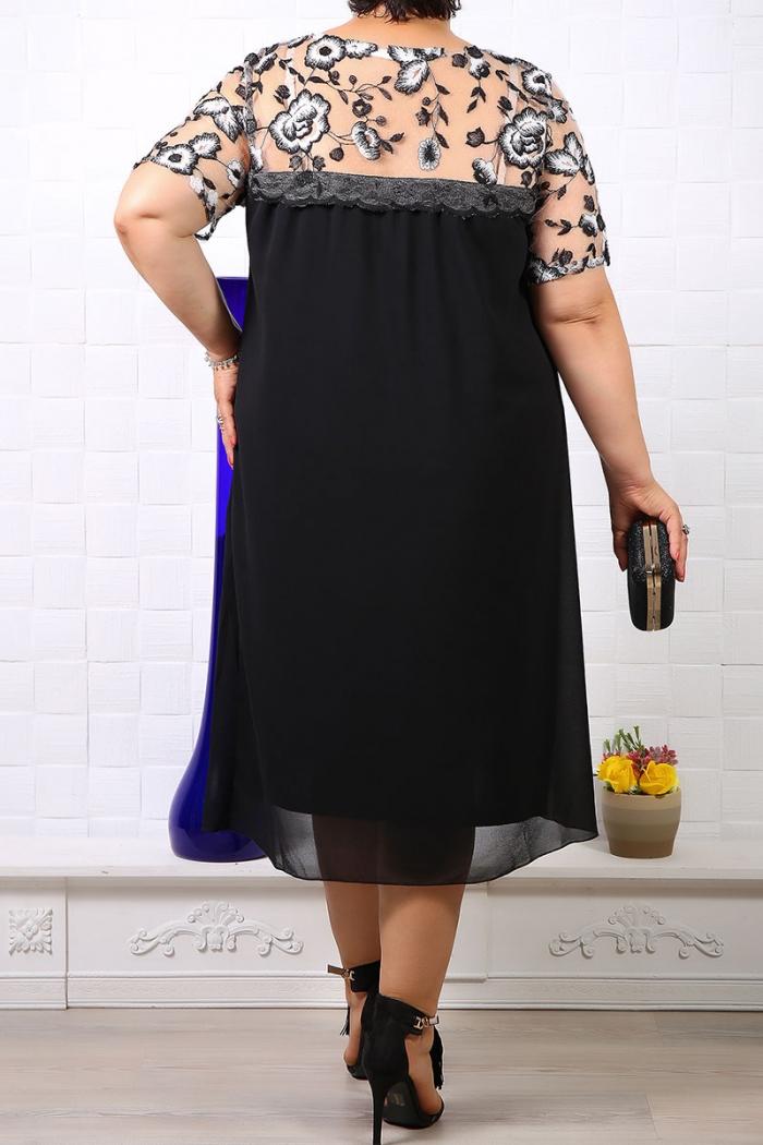 Rochie de ocazie Feli Negru