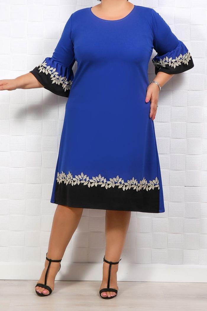Rochie Eleganta Gloria Albastru 300