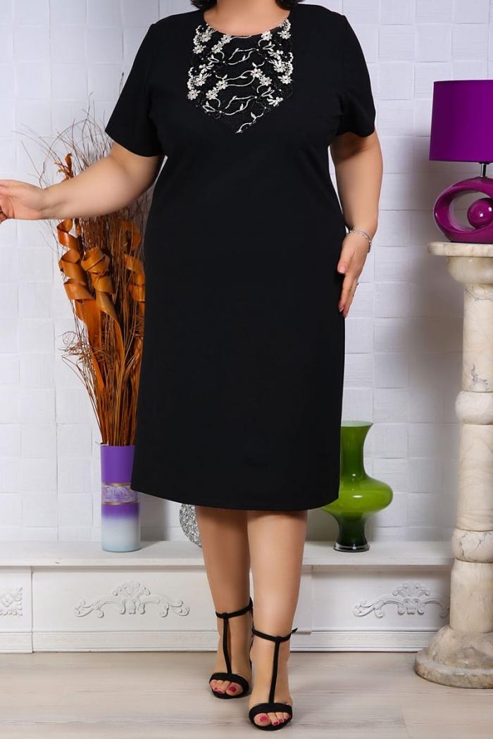 Rochie de ocazie Elisa Negru Rochii Perfect Fashion 16