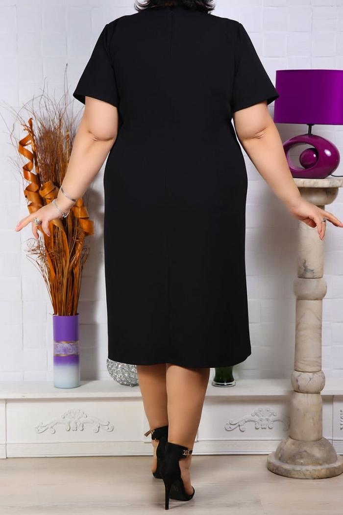 Rochie de ocazie Elisa Negru Rochii Perfect Fashion 17