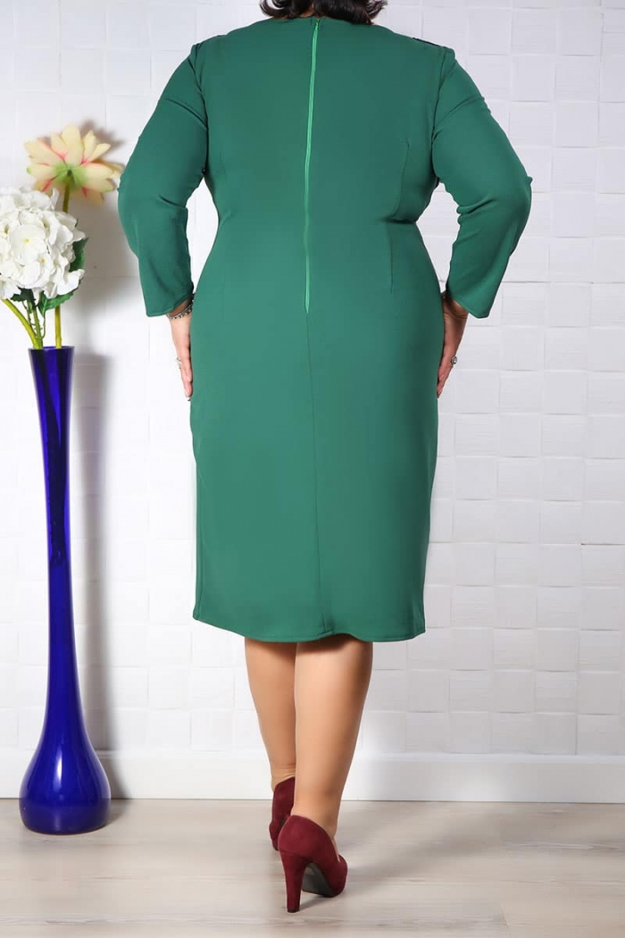 Rochie eleganta Ela Verde