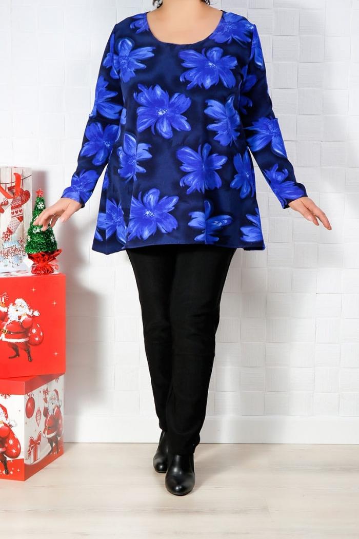 2 Piese Pantalon si Bluza Bleumarin