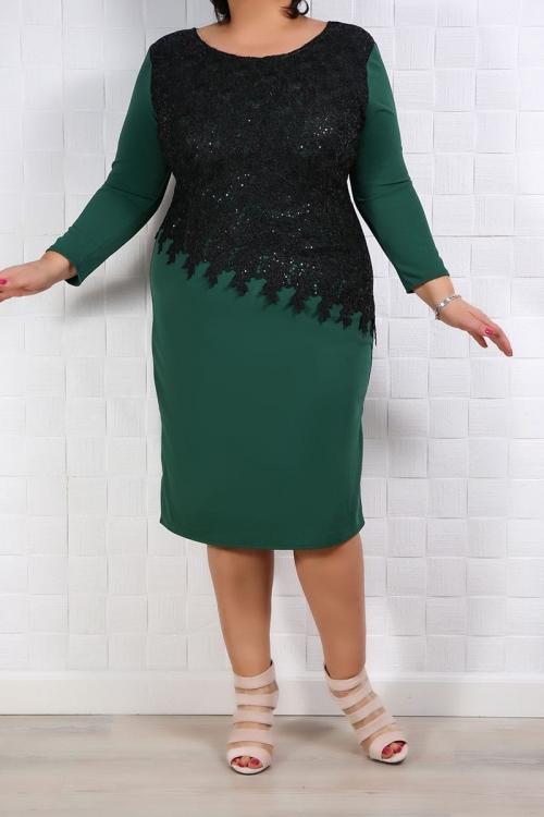 Rochie Eleganta Francesca Verde Rochii de Ocazie 74