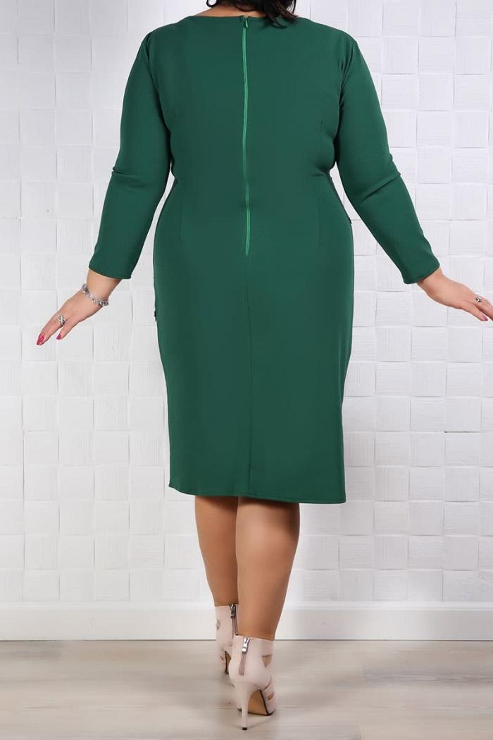Rochie Eleganta Francesca Verde Rochii de Ocazie 75
