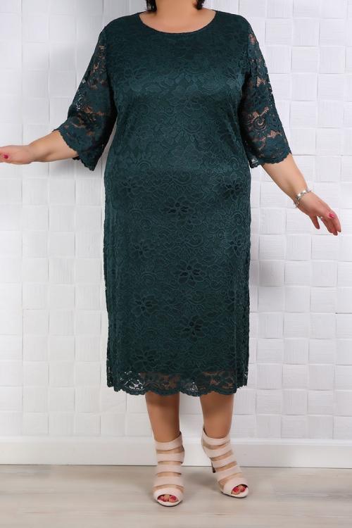 Rochie de dantela Teresa Verde Rochii de Ocazie 90