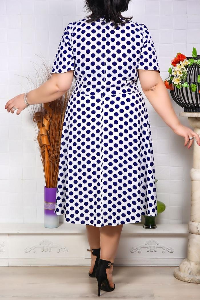Rochie cu buline gloria Ivoir Perfect Fashion 1 1