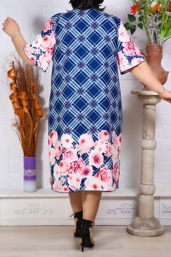 Rochie imprimata Danesa  Perfect Fashion 11