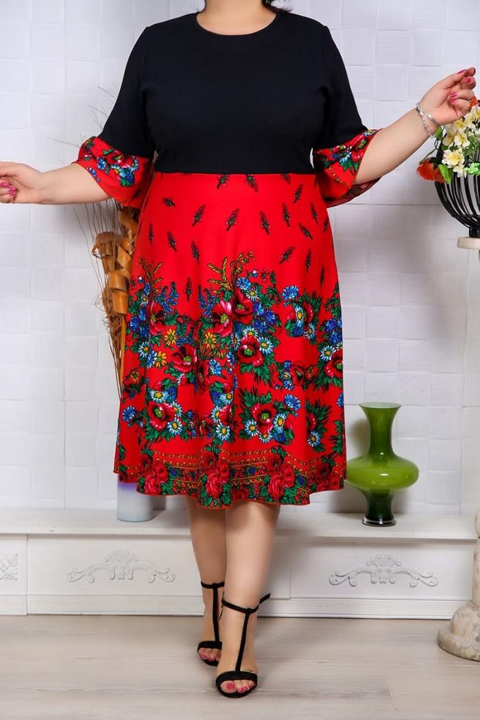 Rochie de Ocazie Electra Rosu Perfect Fashion 26 1