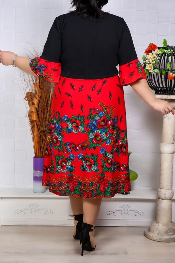 Rochie de Ocazie Electra Rosu Perfect Fashion 27 1