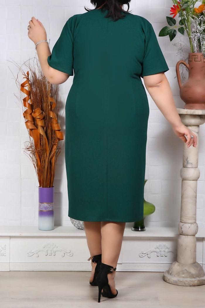 Rochie Eleganta Florenta Verde Perfect Fashion 29