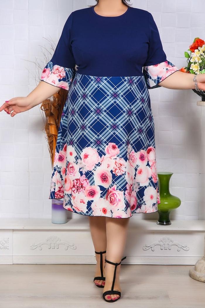 Rochie de Ocazie Royal Print Perfect Fashion 34 1
