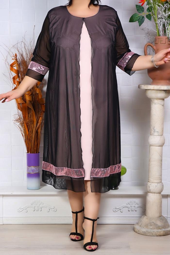 Rochie de Seara Graziela Roz Perfect Fashion 4