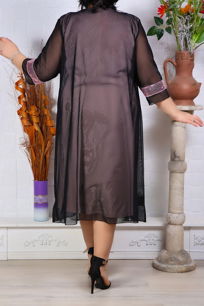 Rochie de Seara Graziela Roz Perfect Fashion 5