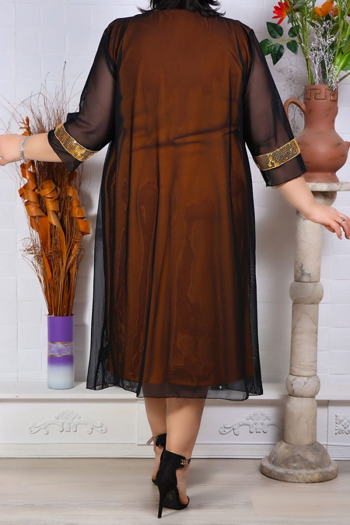 Rochie de Seara Graziela Galben Perfect Fashion 7