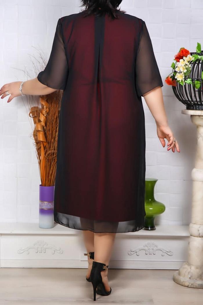 Rochie de Seara Sabrina Rosu Perfect Fashion 9 1