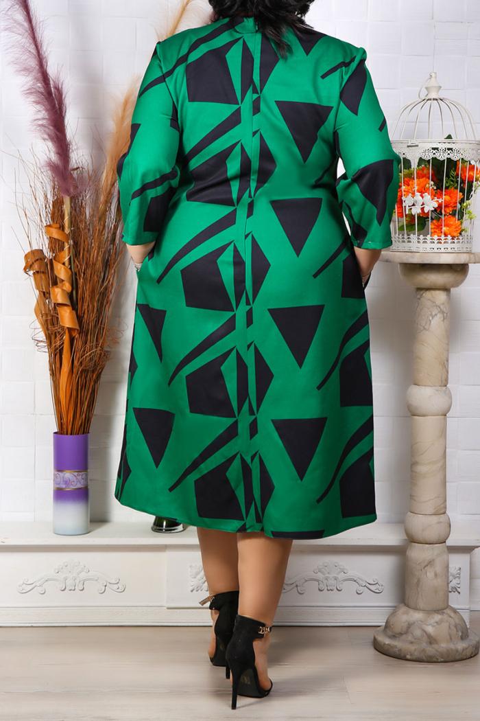 Rochie Eleganta Alexis Verde IMG 9628