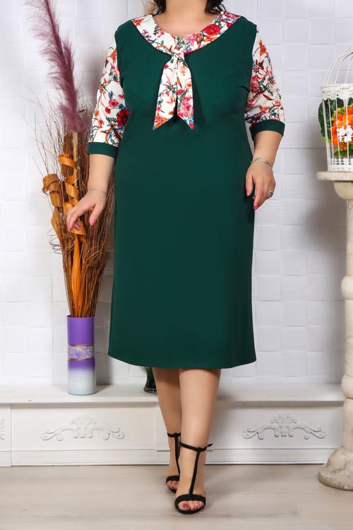 Rochie Eleganta Melisa Verde IMG 9639