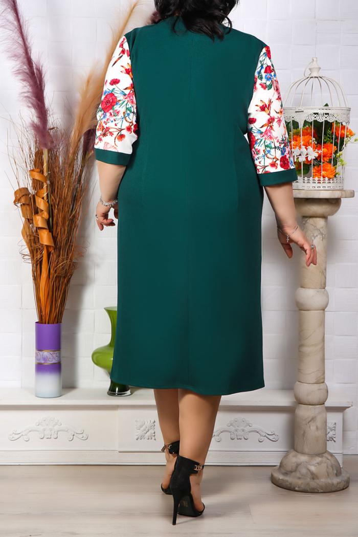 Rochie Eleganta Melisa Verde IMG 9640