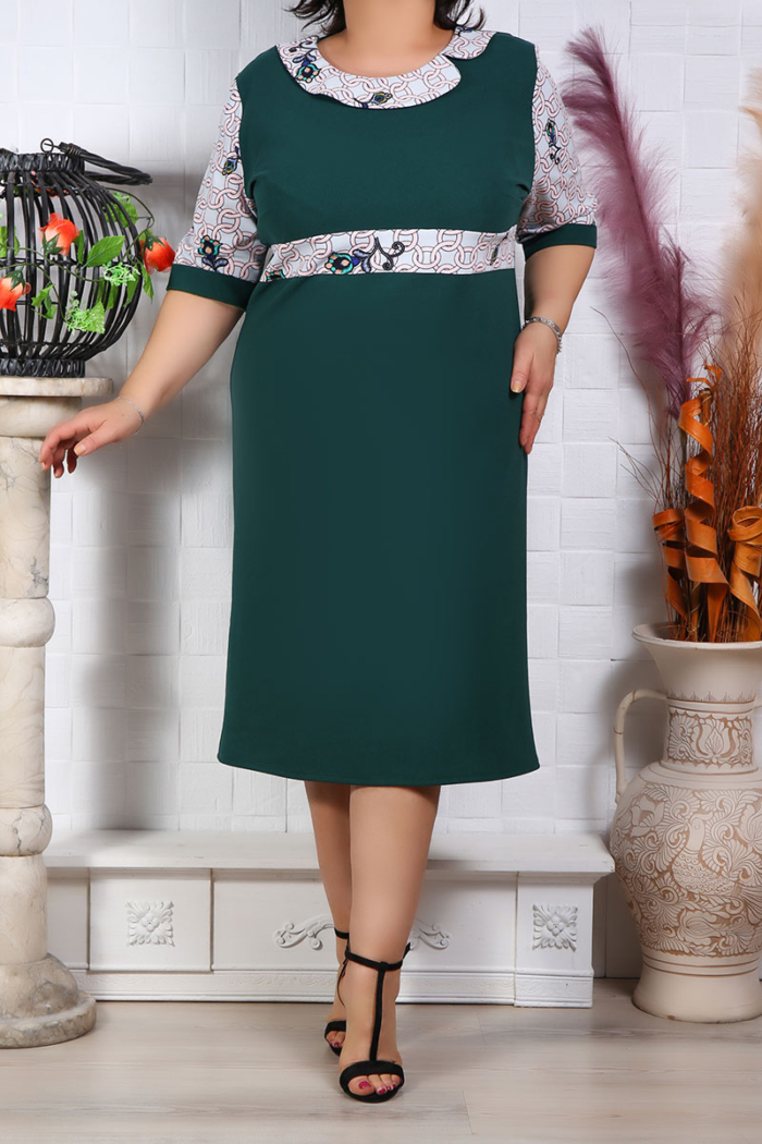Rochie Eleganta Linda Verde IMG 9679