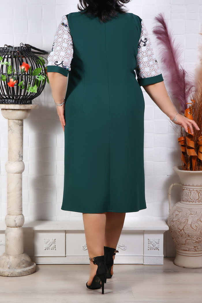 Rochie Eleganta Linda Verde IMG 9680