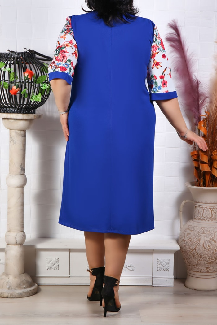 Rochie Eleganta Melisa Albastru IMG 9690