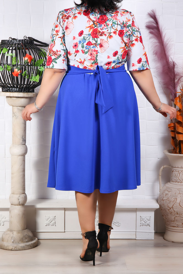 Rochie in Clos Sabrina Electric IMG 9721