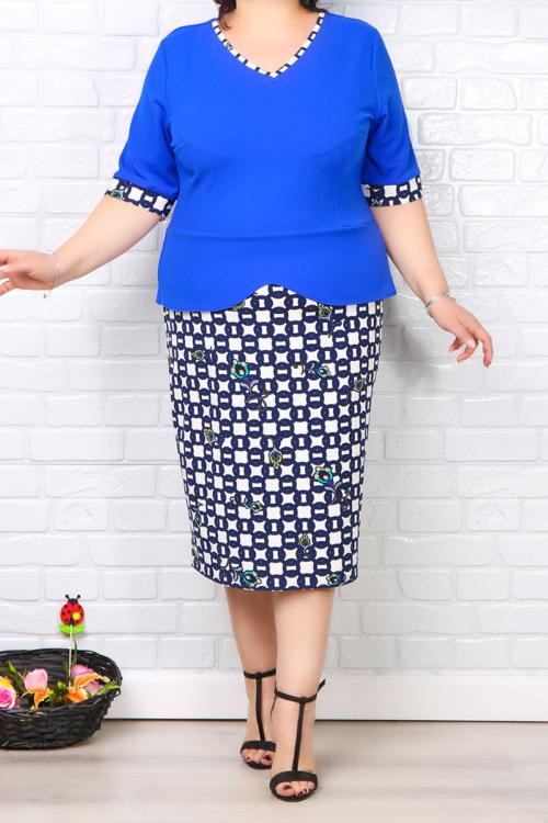 Rochie Eleganta Matilda Albastru IMG 0197