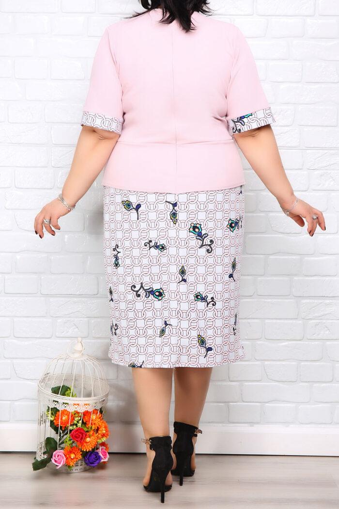 Rochie Eleganta Matilda Roz IMG 9969