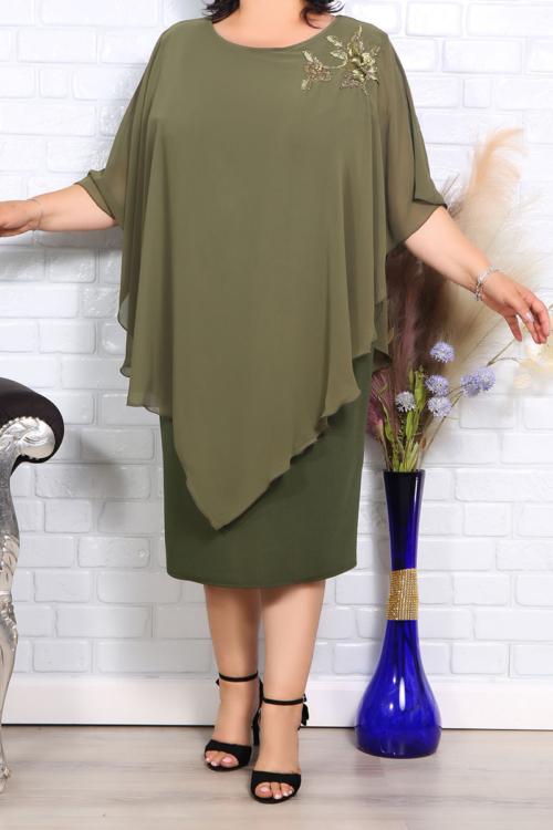 Rochie de ocazie Mirela Olive IMG 1034copy