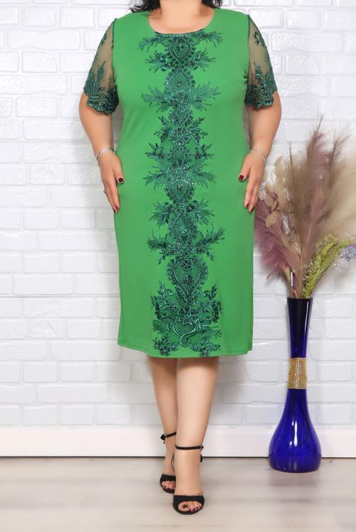 Rochie de Ocazie Violeta Verde IMG 1275 copy